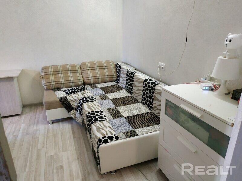 Продажа 1 комнатной квартиры в г. Минске, ул. Асаналиева, дом 9 (р-н Серова). Цена 107 853 руб