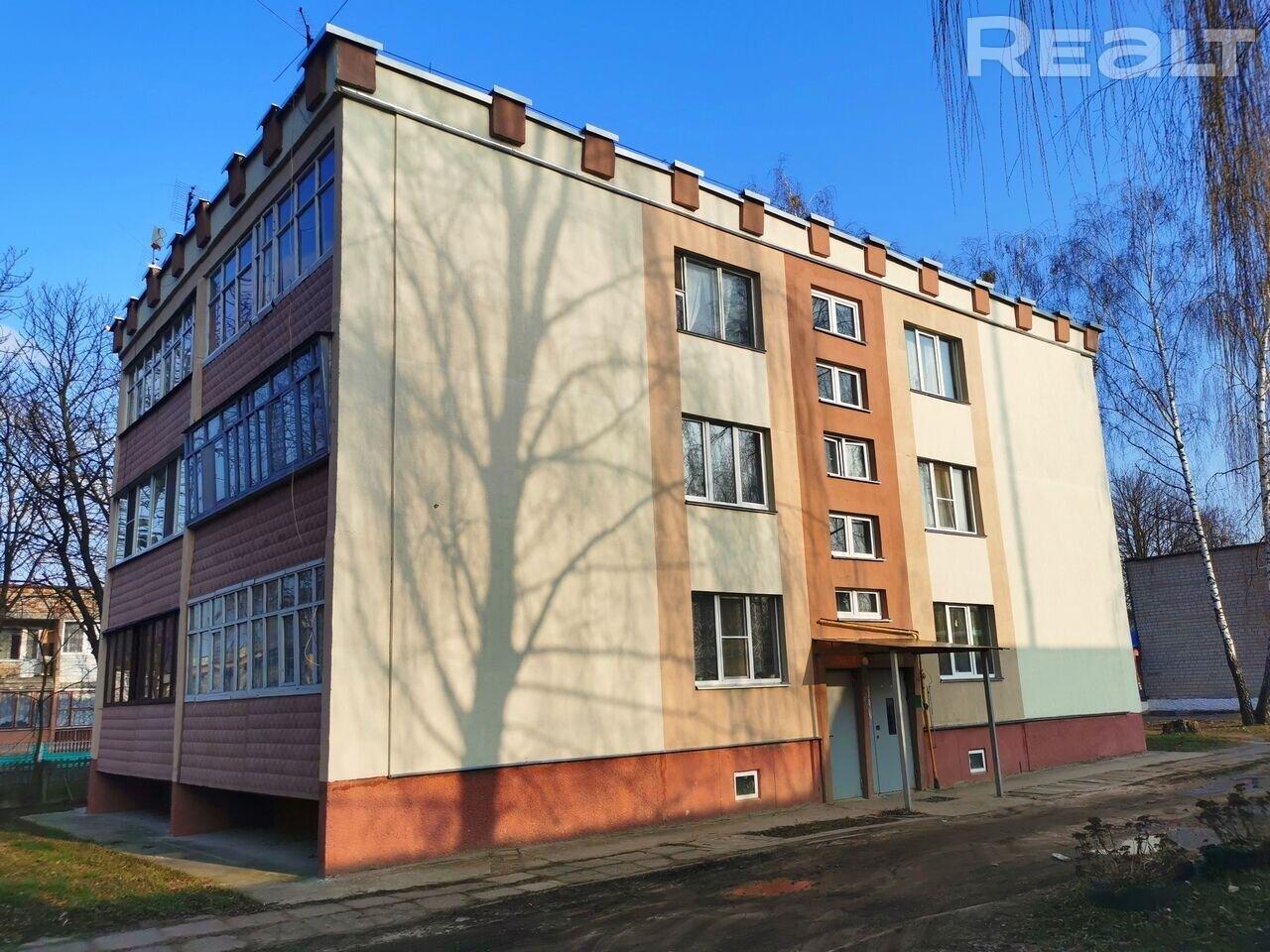 Продажа 1 комнатной квартиры, аг. Урицкое, ул. Коммунистическая, дом 6. Цена 37 704 руб