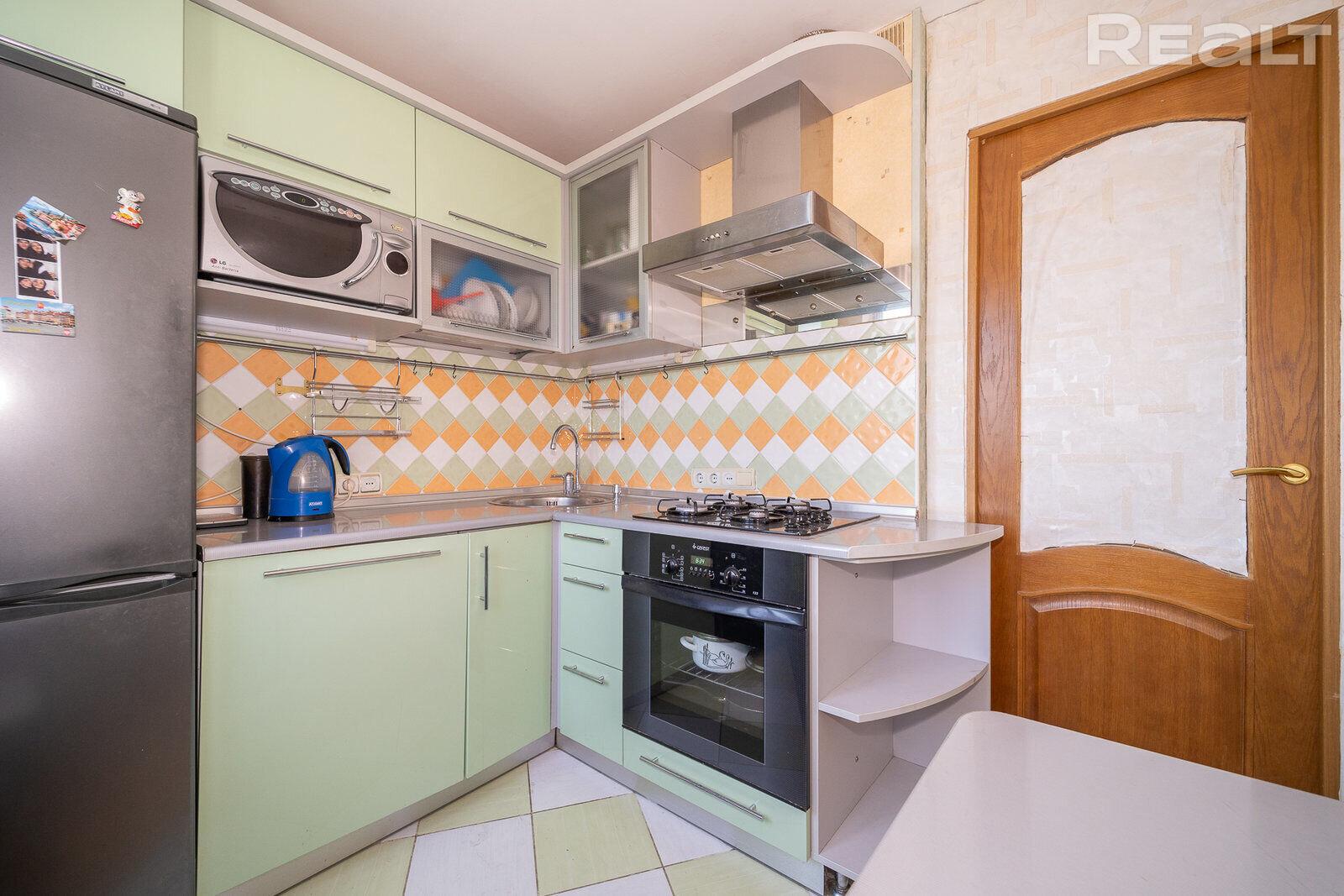 1к квартира на у метро Парк Челюскинцев полностью готова к проживанию.