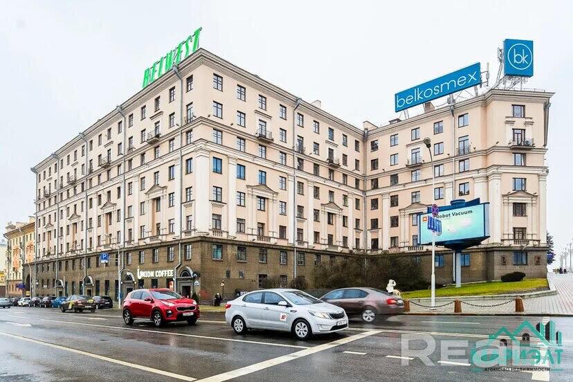 Трехкомнатная сталинка в центре Минска.