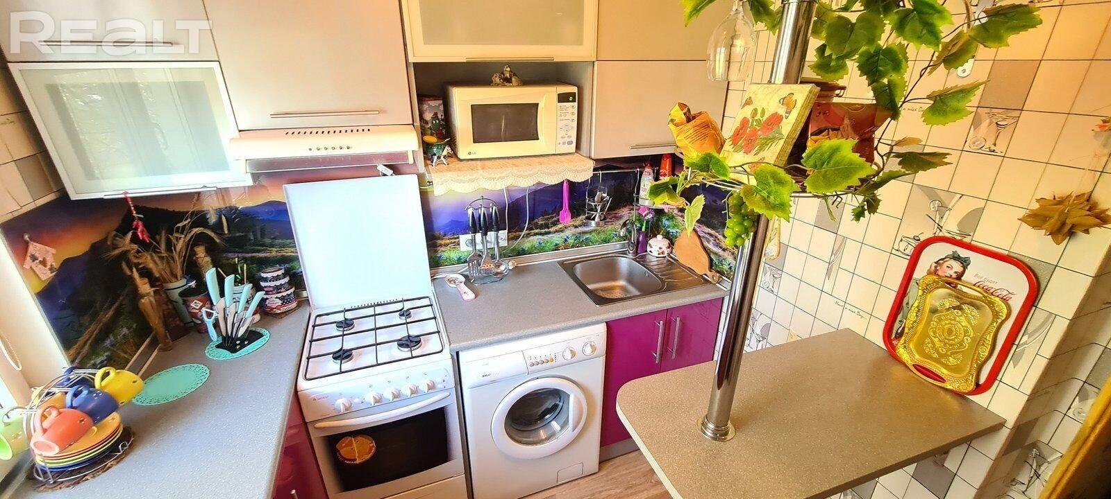 Продажа 2-х комнатной квартиры в г. Минске, ул. Калиновского, дом 19 (р-н Седых, Тикоцкого). Цена 137 929 руб