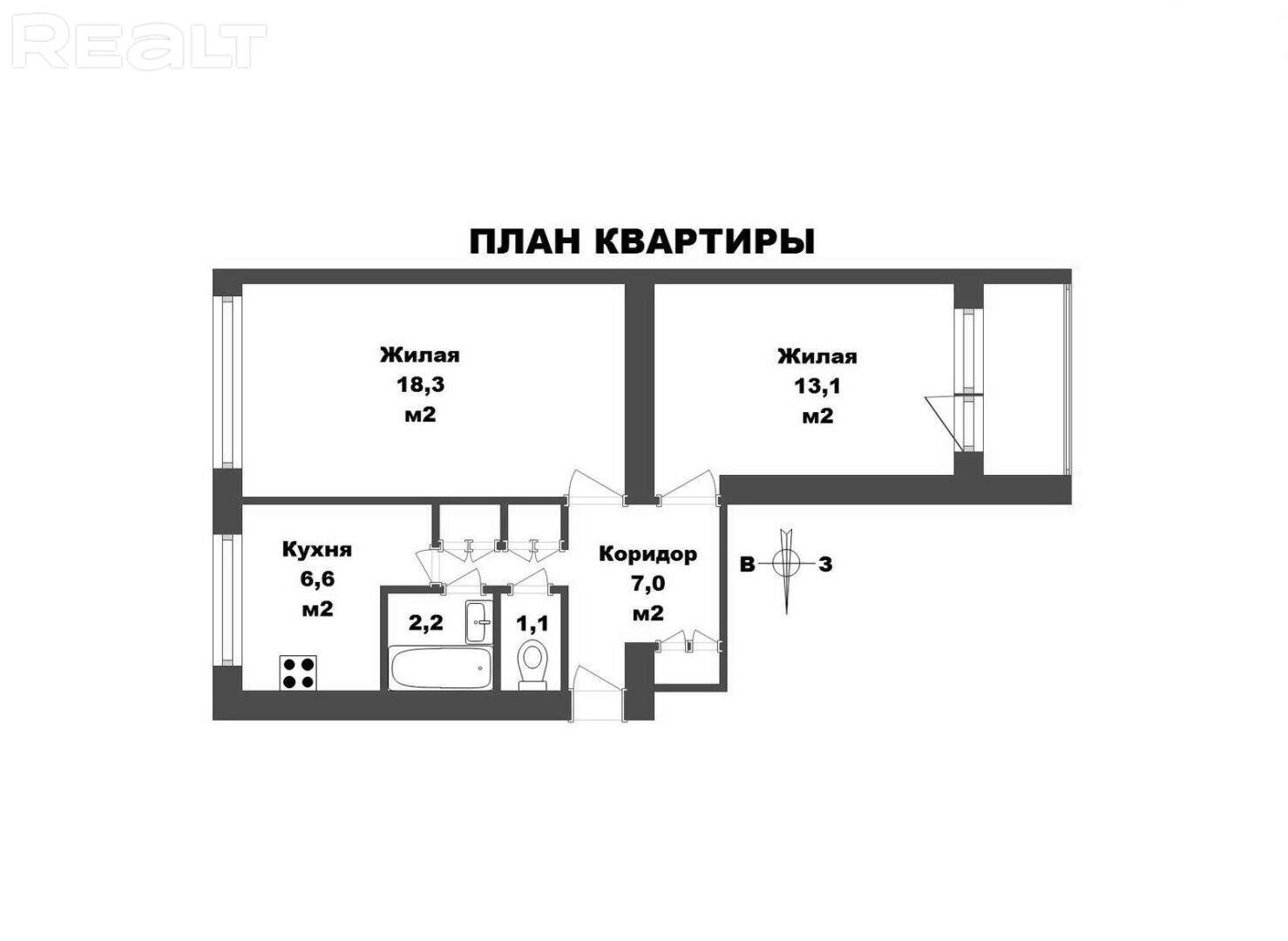 Расположение-Инфраструктура-Экология-Квартира в кирпиче