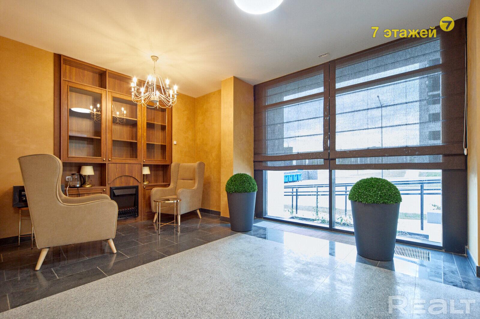 Продается 1-комнатная квартира в новостройке с видом на Волну