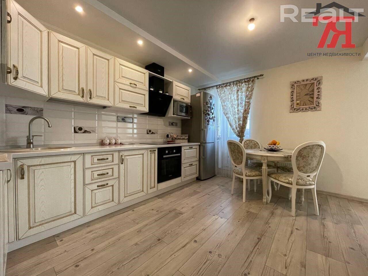 Продается 1-ком квартира с отличным ремонтом, оборудованная мебелью и техникой
