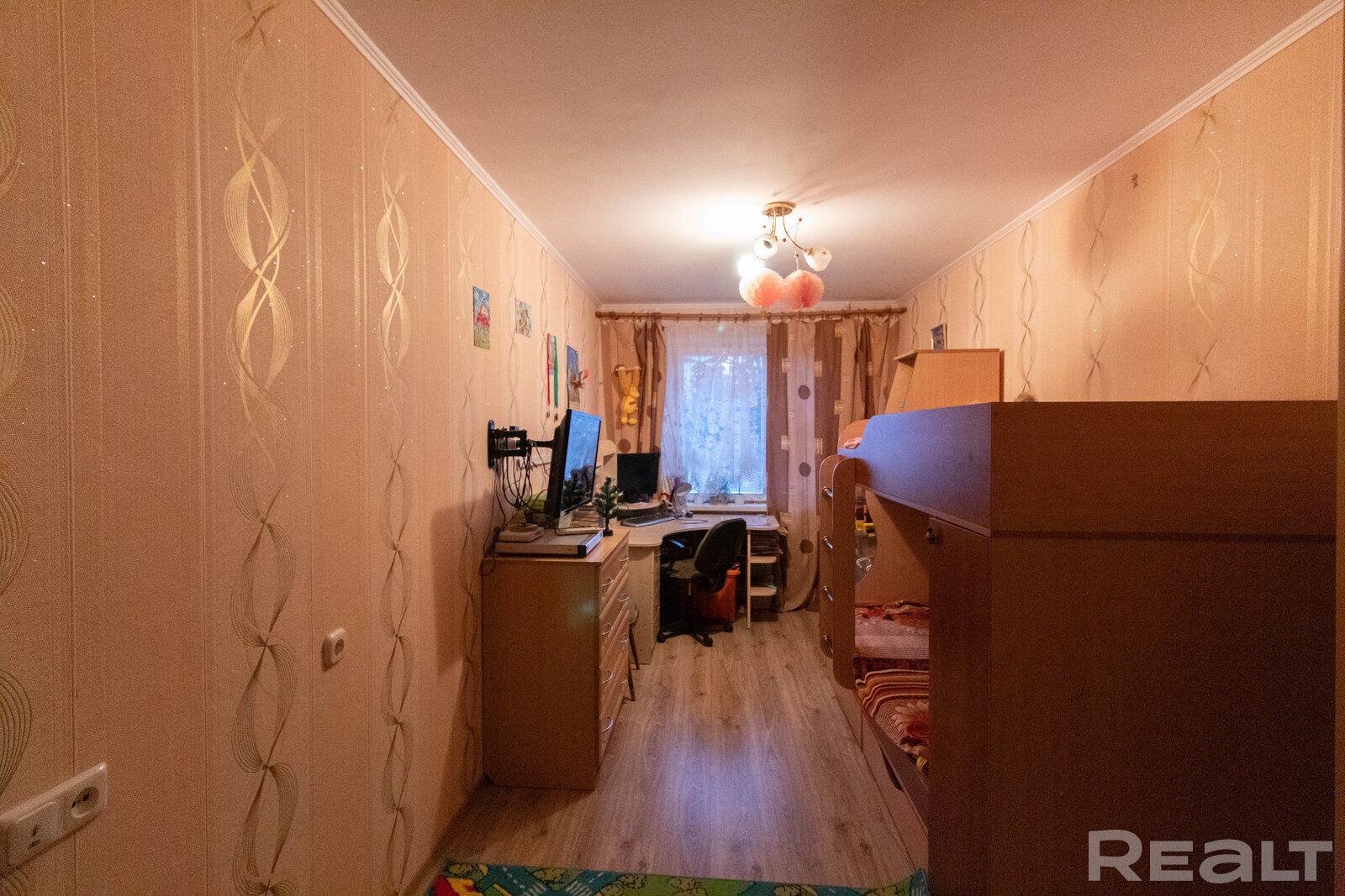 Продажа 3-х комнатной квартиры, г. Минск, ул. Берестянская, дом 11 (р-н Гикало, Золотая Горка). Цена 161 017 руб