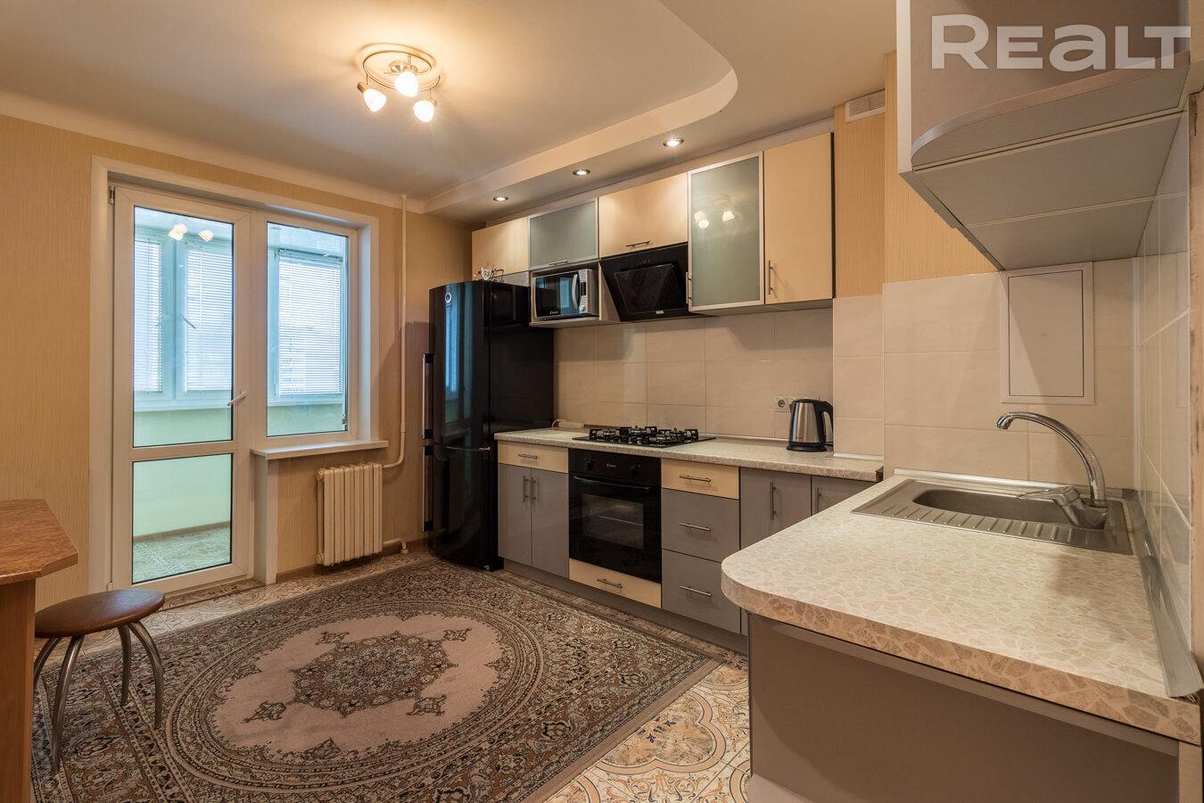Просторная 3-х-комнатная квартира на ул. Прушинских, д. 18