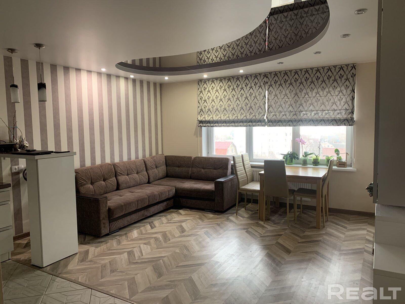 Продается новая трехкомнатная квартира полностью готовая к проживанию