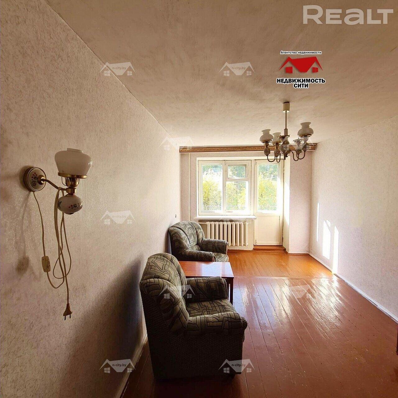 Продажа 2-х комнатной квартиры в г. Могилеве, пер. Гоголя, дом 27 (р-н 30 лет Победы). Цена 60 505 руб