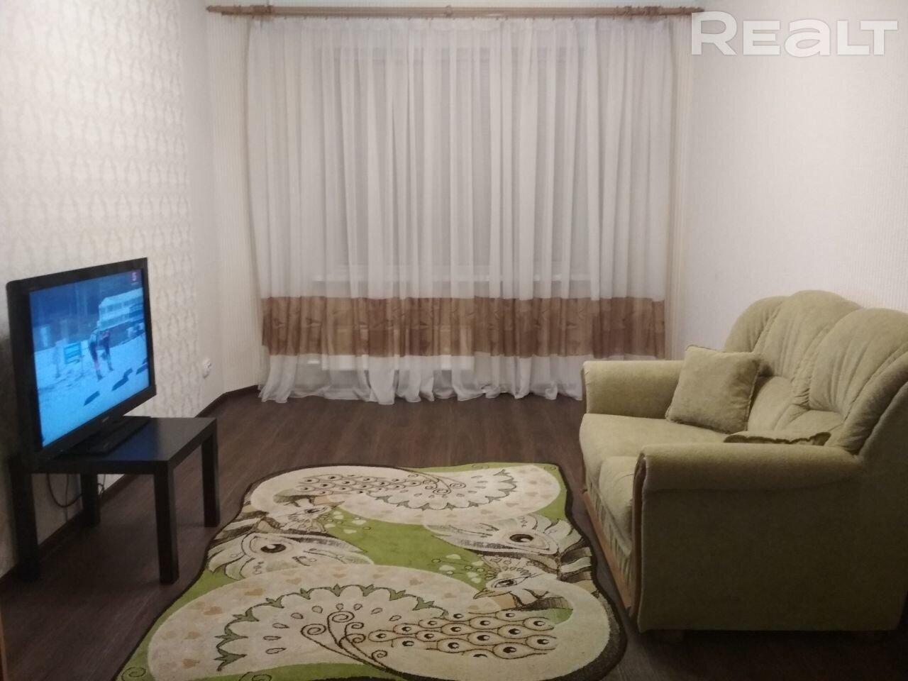 Продажа 1 комнатной квартиры в г. Минске, ул. Никифорова, дом 11 (р-н Уручье). Цена 120 528 руб c торгом