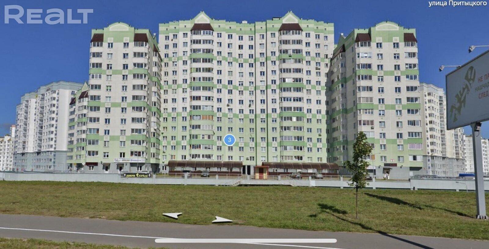 Продажа 2-х комнатной квартиры в г. Минске, ул. Неманская, дом 3 (р-н Каменная горка). Цена 191 164 руб c торгом